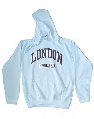 London hooded sweatshirt