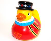 Beefeater rubber duck
