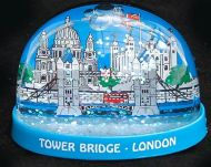 Tower Bridge plastic snowglobe