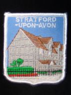 Birthplace sew on patch