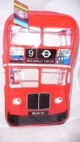London bus PVC backpack